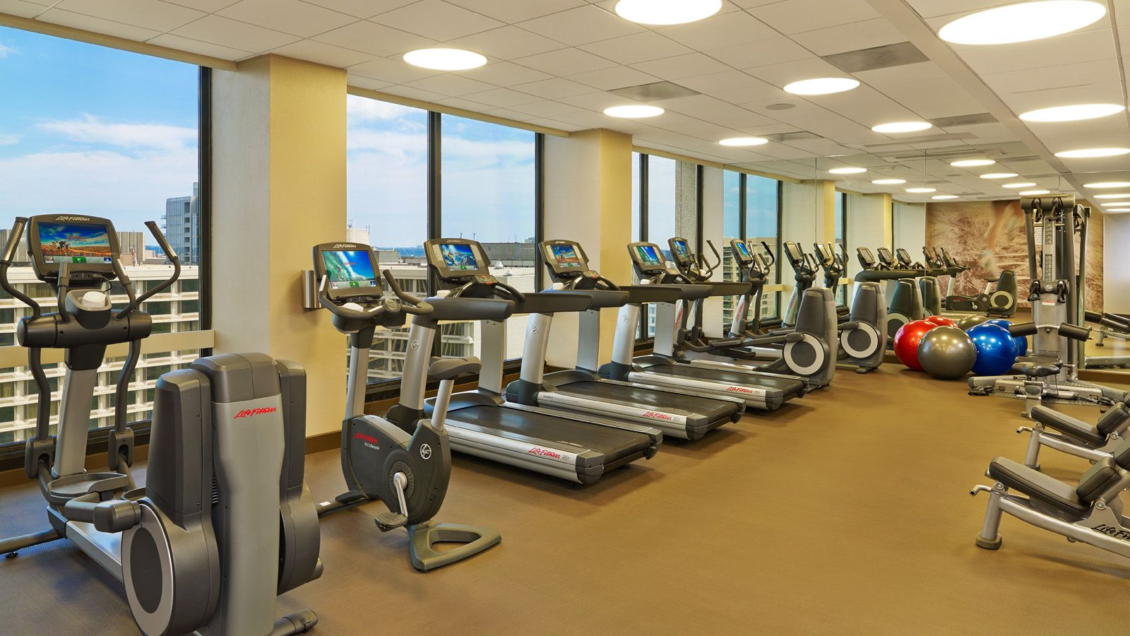 The Westin Crystal City Fitness Center